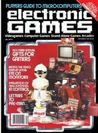 ELECTRONIC GAMES MAGAZINE December 1983