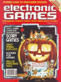 ELECTRONIC GAMES MAGAZINE November 1983
