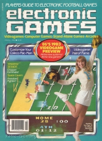 ELECTRONIC GAMES MAGAZINE October 1982