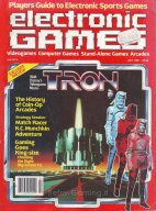 TRON Electronic Games Magazine